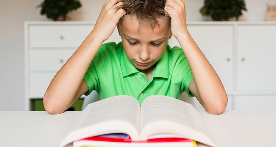 Reading issues in kids